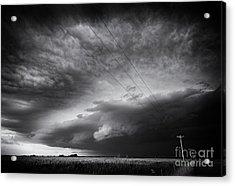 Dark Prairie Acrylic Print by Dan Jurak