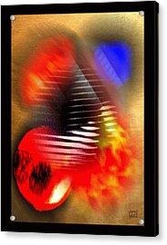 Dark Pyramid Acrylic Print by Kelly McManus