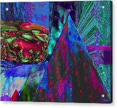 Dark Pyramid Acrylic Print by Phillip Mossbarger