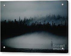 Dark Sfumato Acrylic Print