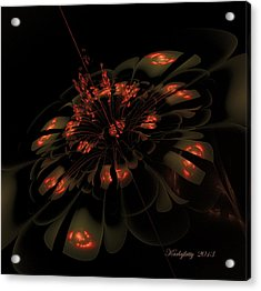Dark Shimmer Acrylic Print