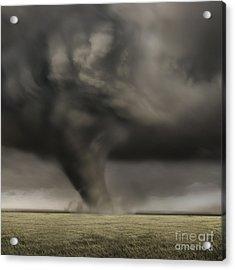 Dark Storm Acrylic Print by Boon Mee