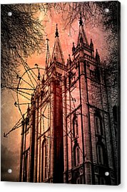 Acrylic Print featuring the photograph Dark Temple by Jim Hill