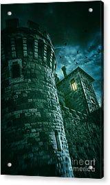 Dark Tower Acrylic Print by Carlos Caetano
