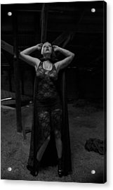 Acrylic Print featuring the photograph Dark Witch's Yearning by Mez