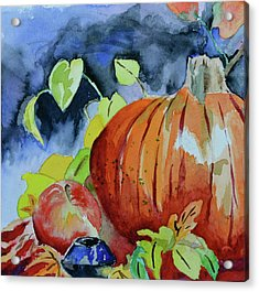 Acrylic Print featuring the painting Darkening by Beverley Harper Tinsley