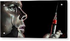 Darkly Dreaming Dexter Acrylic Print by Vinny John Usuriello