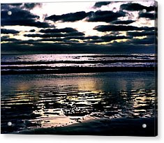 Darkness Can Only Be Scattered By Light Acrylic Print by Sharon Soberon