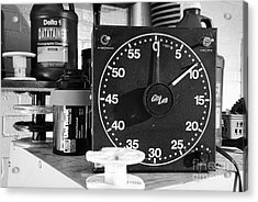 Darkroom Timer Acrylic Print by Paul Ward