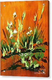 Acrylic Print featuring the painting Darlinettas by Holly Carmichael
