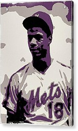 Darryl Strawberry Poster Art Acrylic Print