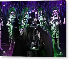 Darth Borg Acrylic Print