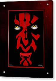 Darth Maul Acrylic Print