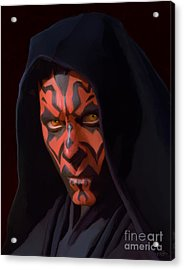 Darth Maul Acrylic Print by Paul Tagliamonte