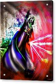 Darth Vader  Acrylic Print by Daniel Janda