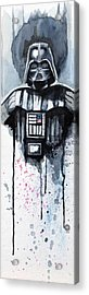 Darth Vader Acrylic Print by David Kraig