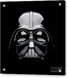Darth Vader Helmet Acrylic Print