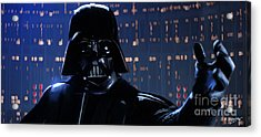 Darth Vader Acrylic Print by Paul Tagliamonte