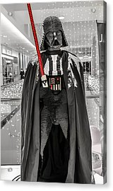 Darth Vader. Acrylic Print by Slavica Koceva