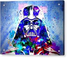 Darth Vader Star Wars Acrylic Print by Daniel Janda