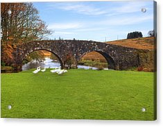 Dartmoor - Two Bridges Acrylic Print by Joana Kruse