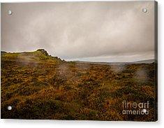 Dartmoor Rain Acrylic Print