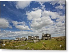 Dartmoor Tor Acrylic Print