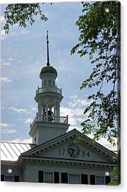 Dartmouth Hall Tower Acrylic Print