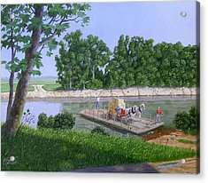 Darwin Ferry Acrylic Print