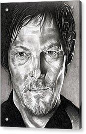 Daryl Dixon - The Walking Dead Acrylic Print