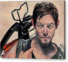 Daryl Dixon Acrylic Print