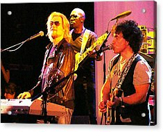 Daryl Hall And Oates In Concert Acrylic Print by Alice Gipson