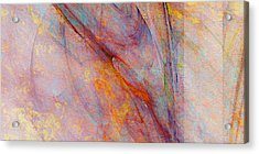 Dash Of Spring - Abstract Art Acrylic Print