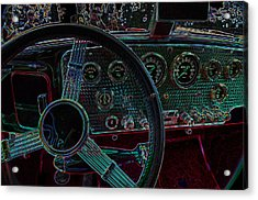 Dashboard 1936 Cord Automobile Acrylic Print