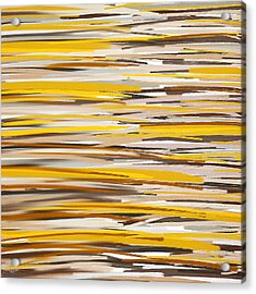 Dashes Of Sun Acrylic Print by Lourry Legarde