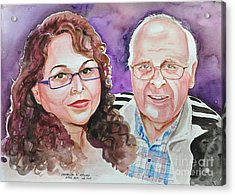 Dave And Cecile Acrylic Print