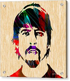 Dave Grohl Foo Fighters Acrylic Print