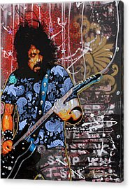 Dave Grohl Acrylic Print by Gary Kroman