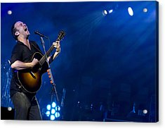 Dave Matthews At Alpine Valley Acrylic Print by Shawn Everhart