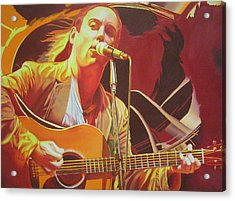 Dave Matthews At Vegoose Acrylic Print by Joshua Morton