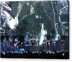 Dave Matthews Band Rocks Final Four Weekend Acrylic Print by Aaron Martens