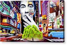 Dave Matthews Dreaming Tree Acrylic Print by Joshua Morton