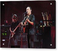 Dave Matthews Live Acrylic Print