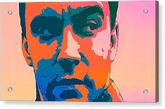 Dave Matthews Pop Art Acrylic Print by Dan Sproul