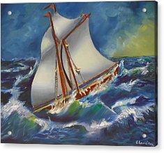Daves' Ship Acrylic Print
