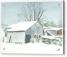 David Hoyles Shed Acrylic Print