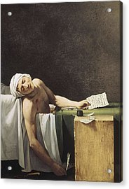 David, Jacques-louis 1748-1825 Marat Acrylic Print