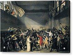 David, Jacques-louis 1748-1825. Oath Acrylic Print