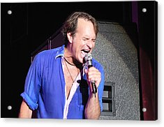 David Lee Roth 004 Acrylic Print by Artistic Photos