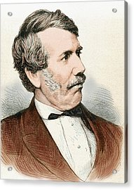 David Livingstone (1813-1873 Acrylic Print by Prisma Archivo